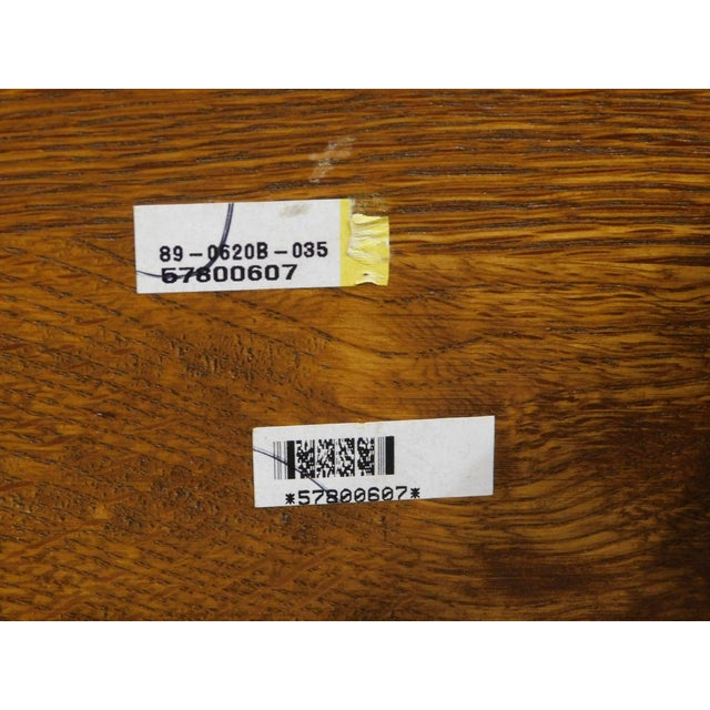 Wood Stickley Mission Collection Oak Queen Size Panel Bed For Sale - Image 7 of 13