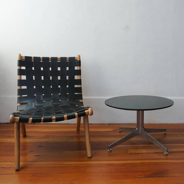 Mid-Century Modern Ward Bennett Column X Table for Lehigh Furniture Company For Sale - Image 3 of 7
