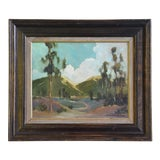Image of David A. Wilson Plein Air California Landscape Oil Painting For Sale