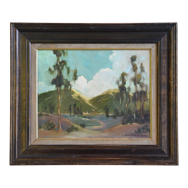 David A. Wilson Plein Air California Landscape Oil Painting For Sale