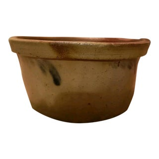 "Cobalt-Decorated Stoneware Bowl, Stamped ""John Bell / Waynesboro,"" Pa For Sale"