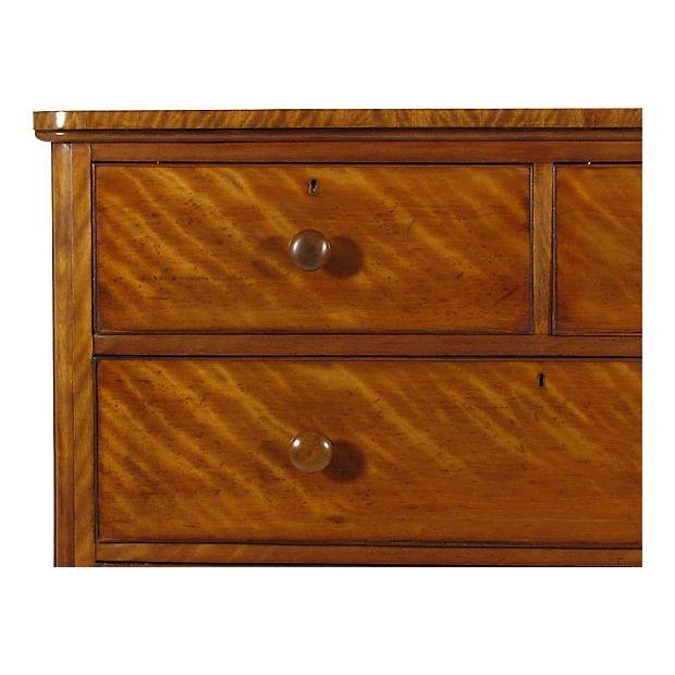 19th-C. English Sycamore Chest - Image 4 of 5