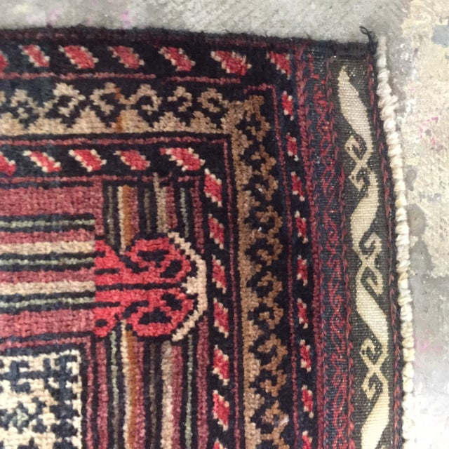 "Turkaman Persian Rug, 2'5"" x 4'1"" - Image 8 of 8"