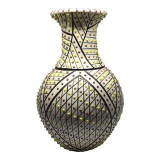 Vintage Tom Ponte Pottery Vase For Sale