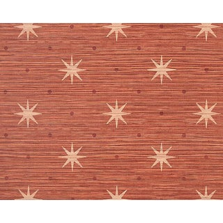 Hinson for the House of Scalamandre Big Trixie Wallpaper in Red For Sale