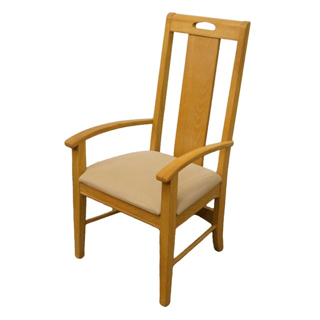 """Thomasville Furniture American Revival Collection Dining Arm Chair 26621-822 43"""" High 23.25"""" Wide 25"""" Deep Seat: 19"""" High..."""
