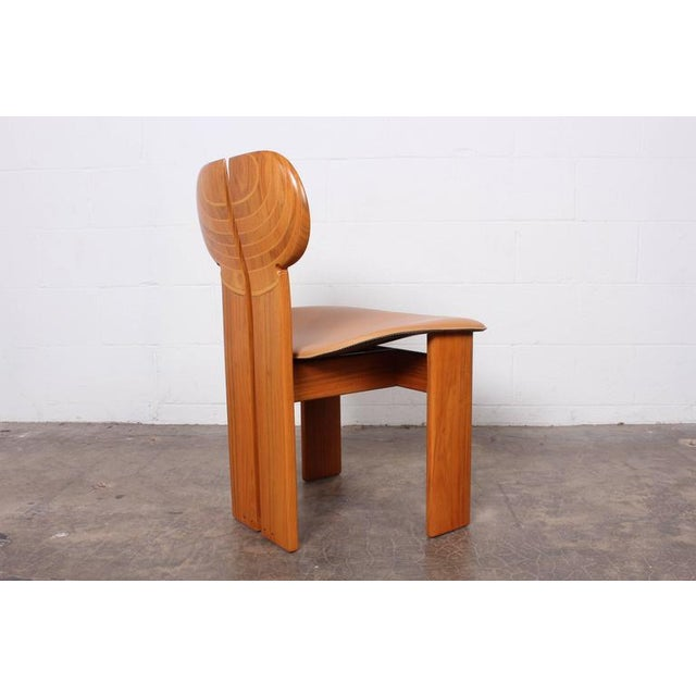 Maxalto Four Africa Chairs by Afra & Tobia Scarpa For Sale - Image 4 of 10