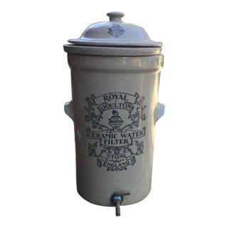 Reproduction Royal Doulton Reproduction Victorian Water Filter For Sale