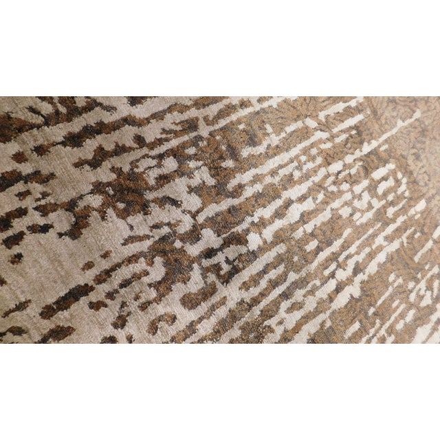 """Contemporary Hand-Knotted Luxury Rug - 8' x 10'2"""" For Sale In Los Angeles - Image 6 of 10"""