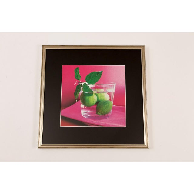 American Citrus Artwork Poster in Frame For Sale - Image 3 of 3