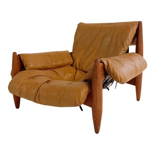 In the Style of Sergio Rodrigues Sheriff Chair For Sale