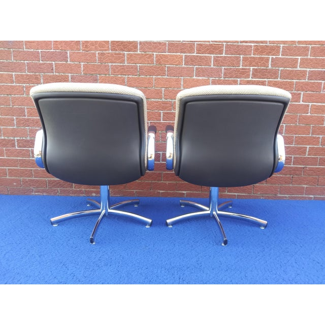 1980's Vintage Steelcase Chair For Sale In Detroit - Image 6 of 12
