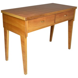 Italian Midcentury Cherry Desk in the Manner of Ico Parisi, 1950s For Sale