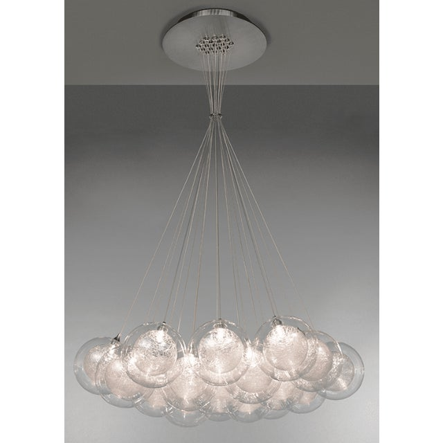 Kadur Gold Drizzle Pendant Chandelier For Sale - Image 10 of 10