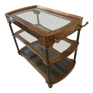 1960s Mid Century Modern Bar Cart For Sale