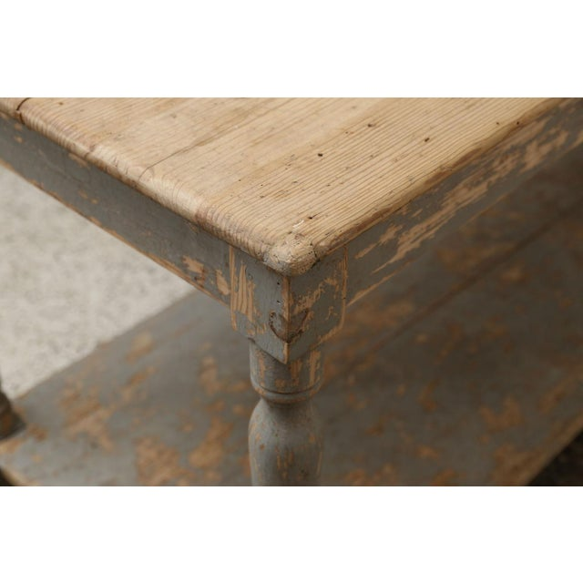 Massive French Drapers Table For Sale - Image 10 of 11