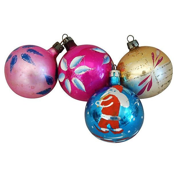 1960s Christmas Ornaments with Box - Set of 12 - Image 5 of 8