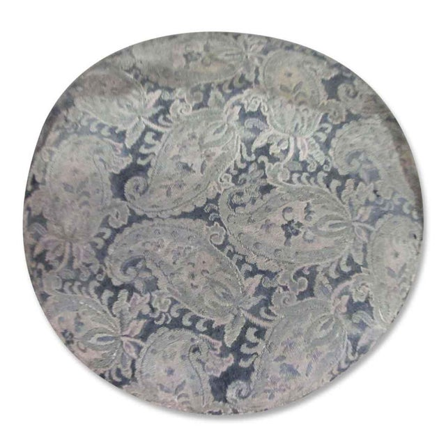 Cottage Paisley Print Low Stool For Sale - Image 3 of 3