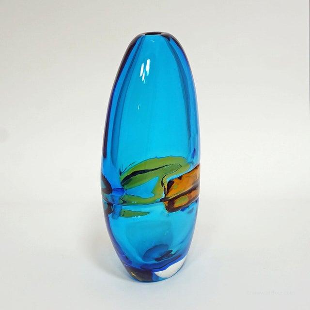 Alfredo Barbini Large Vase 'Doppio Incalmo', Venice Ca. 1965 For Sale - Image 6 of 9