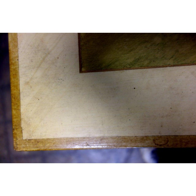 1980s 1980s Vintage John Saladino Neoclassical Library Table For Sale - Image 5 of 8