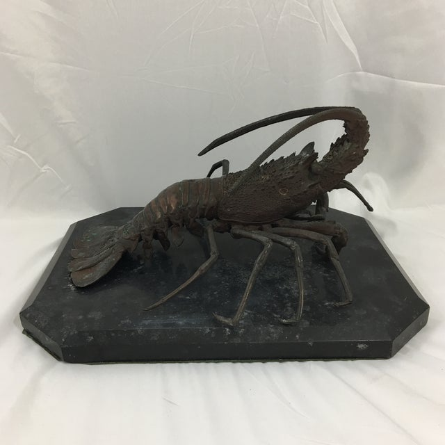 Cast Bronze French Lobster For Sale - Image 6 of 6
