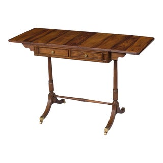 Scarborough House Bahia Rosewood Drop Sofa Table For Sale