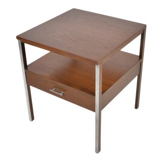 1960s Mid Century Modern Paul McCobb for Calvin Linear Side Table For Sale