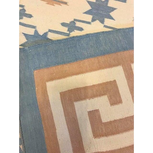 Handmade Flat Woven Kilim Rug - 6' X 9' - Image 5 of 5