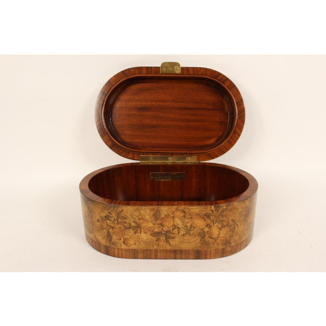 Maitland Smith Burl Walnut Box For Sale In Los Angeles - Image 6 of 10