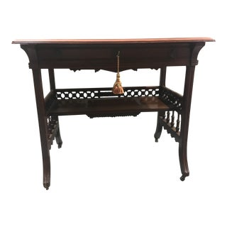 19th Century Asian Style Writing Desk For Sale