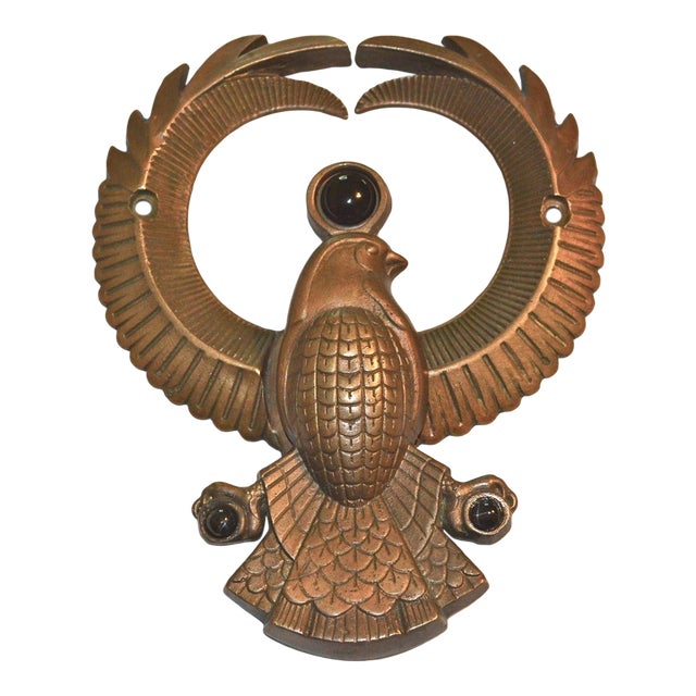 Egyptian Falcon God Horus Door Knocker - Image 1 of 10