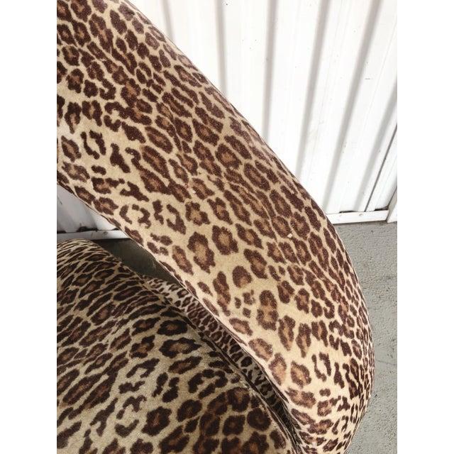 Textile Sculptural Post Modern Velvet Lounge Chair by Jaymar For Sale - Image 7 of 9