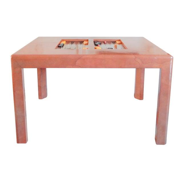 Karl Springer Game Table - Image 2 of 8