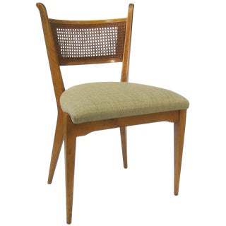 Stellar Set of Four Cane Back Side Chairs by Edmond Spence For Sale