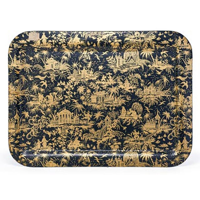 Piero Fornasetti Large Piccolo Coromandel Tray, 1950s. - Image 4 of 4