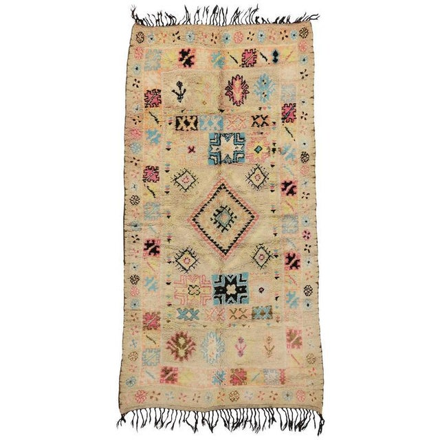 Vintage Berber Moroccan Rug With Bohemian Postmodern, 5'9 X 11'7 For Sale - Image 10 of 10