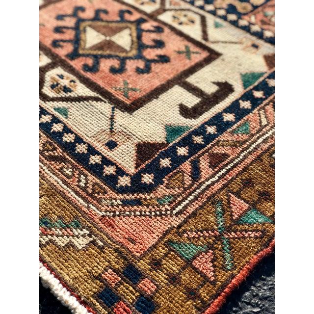 "Vintage Persian Karajeh Runner Rug - 2'8""x9'7"" For Sale - Image 11 of 13"