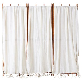 English Victorian Three-Panel Dressing Privacy Screen For Sale