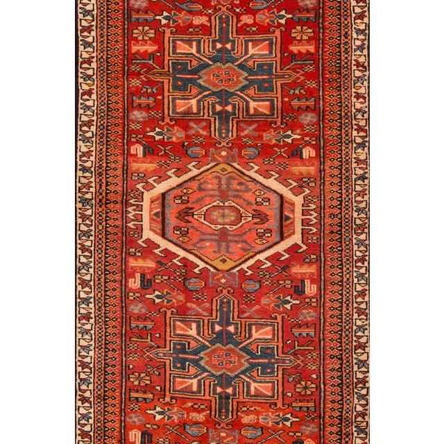 "Apadana - Vintage Persian Heriz Rug, 2'11"" x 10'2"" For Sale - Image 4 of 5"