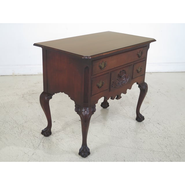 Chippendale Colonial Edison Institute Henry Ford Mahogany Chest of Drawers For Sale - Image 3 of 11