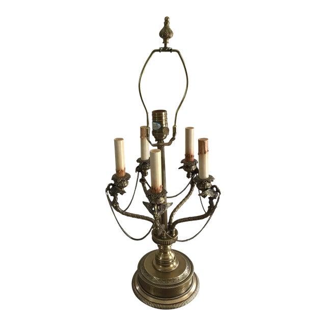 American Regency Eagle Bird Table Lamp Last Markdown For Sale