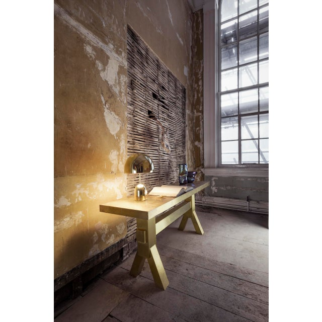 Contemporary Tom Dixon Bell Table Light Brass For Sale - Image 3 of 6