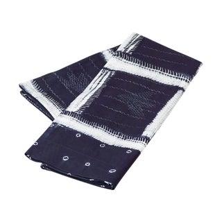 Vintage Adire Eleko Nigerian Indigo Textile