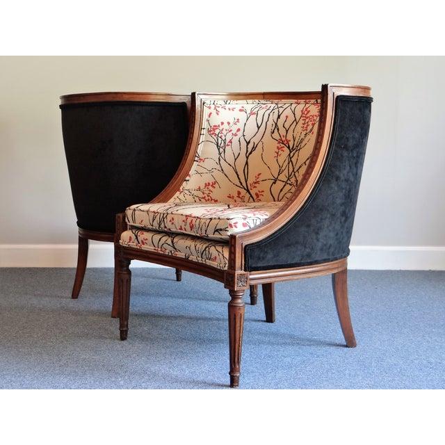 Louis XVI Barrel Chair - A Pair - Image 2 of 8