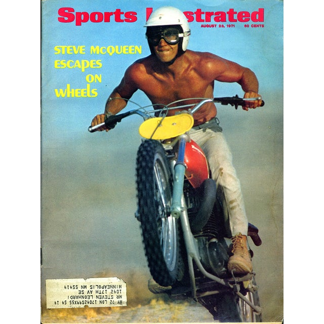 Vintage Steve McQueen Sports Illustrated - Image 1 of 2