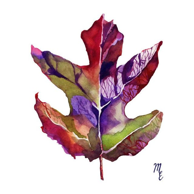 Oak-Leaf Hydrangea Print - Image 3 of 3