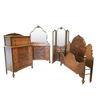 Art Deco Bedroom Set For Sale