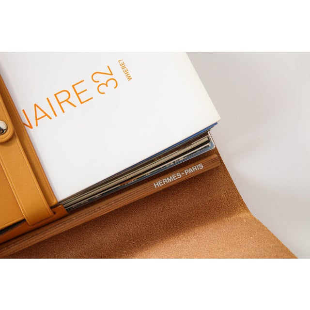 Leather Hermès Visionaire Limited Edition Case For Sale - Image 7 of 12