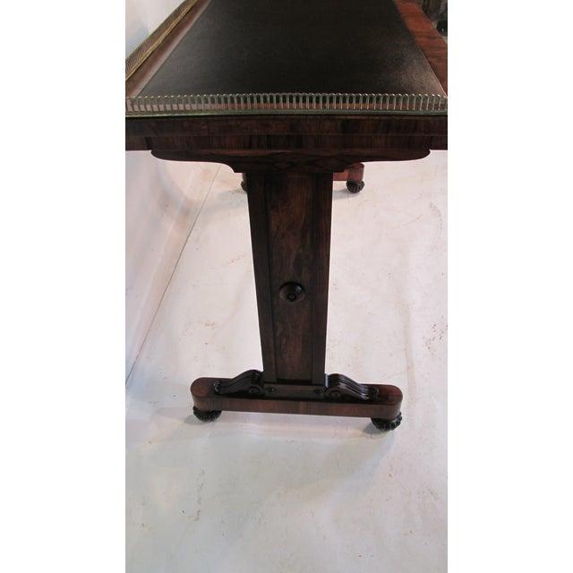 Black Joseph Gerte Rosewood Desk For Sale - Image 8 of 12