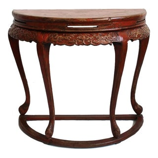 Antique Ming Half Table For Sale